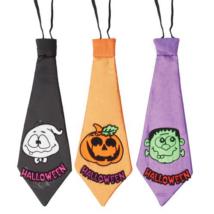 Többfele színű Halloween nyakkendő