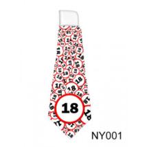 Lépd át a határt' nyakkendő 18. születésnapra