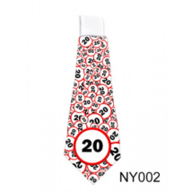 Lépd át a határt' nyakkendő 20. születésnapra