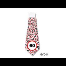 Lépd át a határt' nyakkendő 60. születésnapra