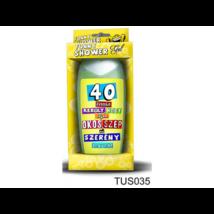 Vicces tusfürdő 40. születésnapra, 300 ml