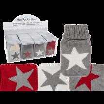 Kézmelegítő csillagos zokni