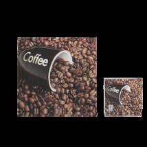 Kávé babos szalvéta 33 x 33 cm 3 rétegű 20 db/cs