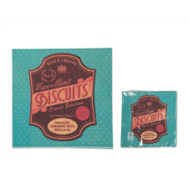 Kék biscuits szalvéta 33 x 33 cm 3 rétegű 20 db/cs