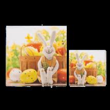 Nyuszis szalvéta húsvétra 33 x 33 cm 3 rétegű 20 db/cs