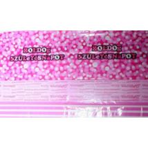 Pink Boldog Születesnapot asztalterítő 130 x 180 cm ®