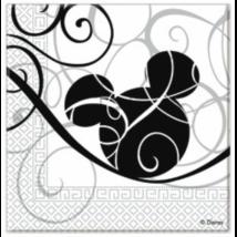 Mickey Faces szalvéta 33 x 33 cm 2 rétegű 25 db/cs