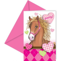 Pink lovas meghívó 6 db/cs