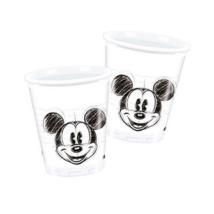Mickey Face műanyag pohár 200 ml 25 db/cs