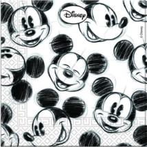 Mickey Face szalvéta 33 x 33 cm 2 rétegű 25 db/cs
