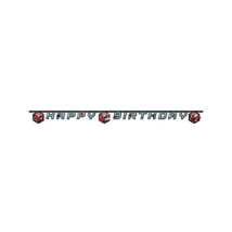Pókember Web Warriors Happy Birthday felirat