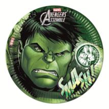 Bosszúállók-Hulk 23 cm-es papírtányér 8 db/cs