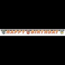 Verdák 3 Happy Birthday felirat