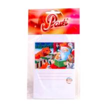 Mikulás karácsonyi ajándékkísérő/meghívó 10 db/cs ®