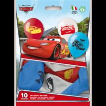 26 cm-es Cars gumi lufi 10 db/cs