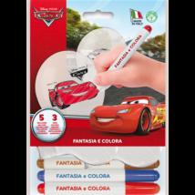 26 cm-es színezhető Verda gumi lufi filccel 5 db/cs