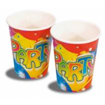 Lufis party pohár 250 ml 8 db/cs