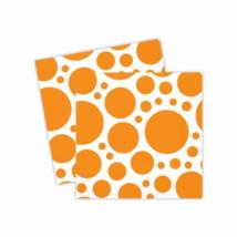 Narancssárga pöttyös szalvéta 33 x 33 cm 20 db/cs ®