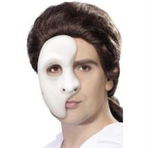 Fehér fantom félmaszk