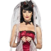 Gótikus menyasszonyi fátyol