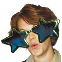Csillag szemüveg, zöld