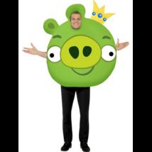 Zöld Angry Birds jelmez Uraknak M-es meret