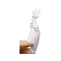 Fehér kesztyű 46 cm