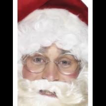 Ezüst színű Mikulás szemüveg lencse nélkül