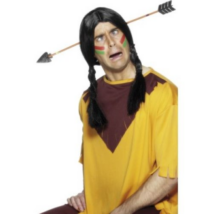 Indián nyíl a fejben hajpánt