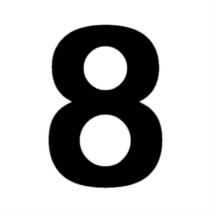 Matrica számok 8