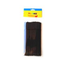 Fekete hajlítható szívószál 5 mm x 24 mm 50 db cs da073c53fa