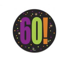 Kitűző 60. születésnapra