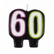Gyertya 60. születésnapra