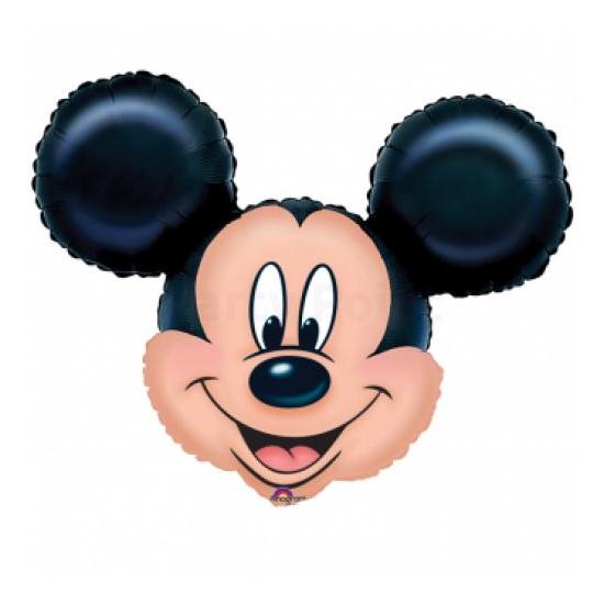 SuperShape-Mickey fejfólia lufi