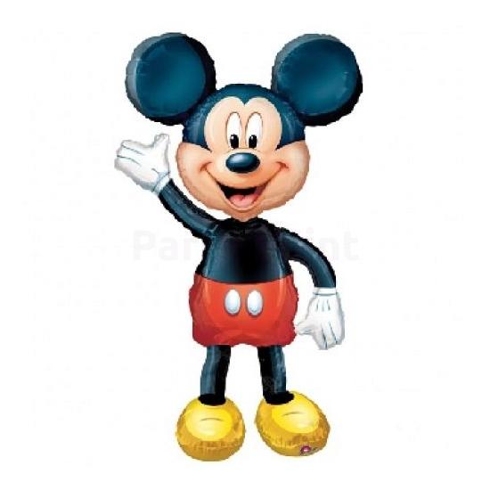 Air-Walker-Sétáló Mickey fólia lufi