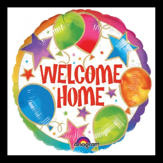 45 cm-es Welcome Home fólia lufi