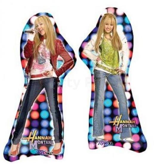 SuperShape -Hannah Montana fólia lufi
