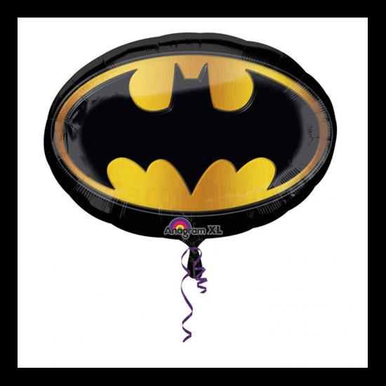 Super Batman emblémás / Anagram fólia lufi