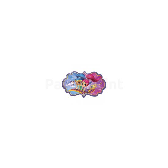 68 x 40 cm-es Shimmer & Shine Super Shape fólia léggömb