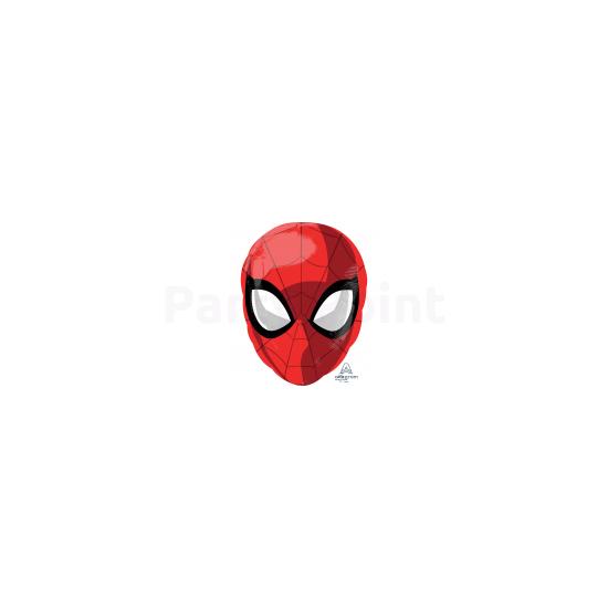 Pókember arc fólia lufi Junior 30x43cm