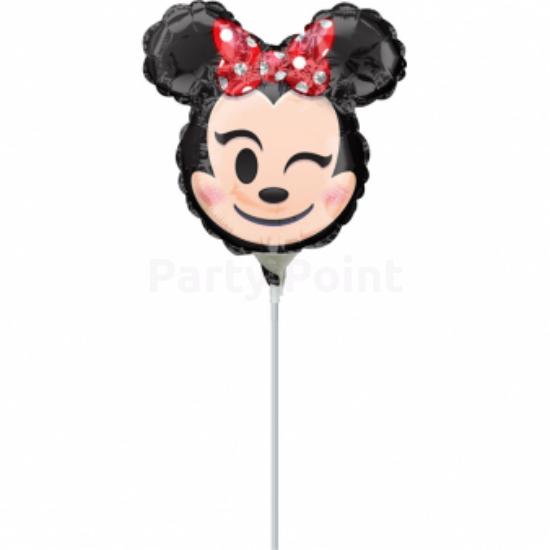 Mini Minnie Emoji fólia lufi