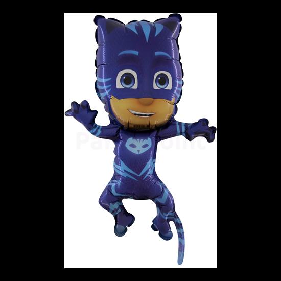 Super PJ Maszk kék fólia lufi