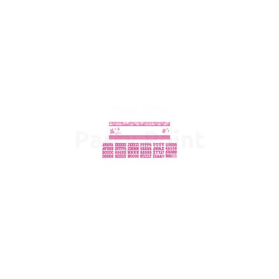 Perszonalizálható With Love Girl felirat 165x50,8 cm