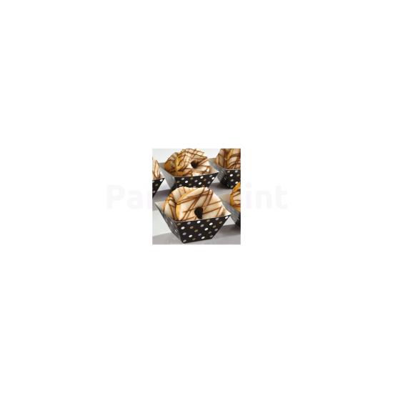 Mini Snack tartó tálca 24db/cs.