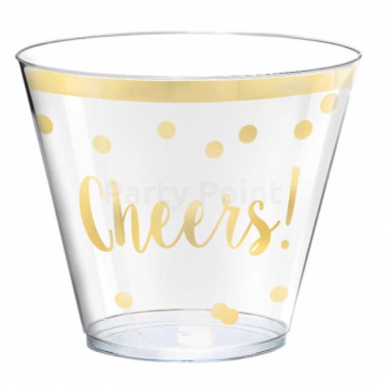 Cheers műanyag pohár 266ml 30db/csomag
