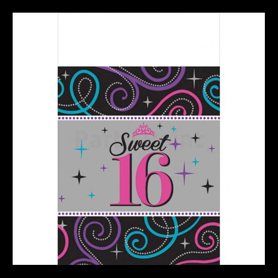 16.születésnapra asztalterítő