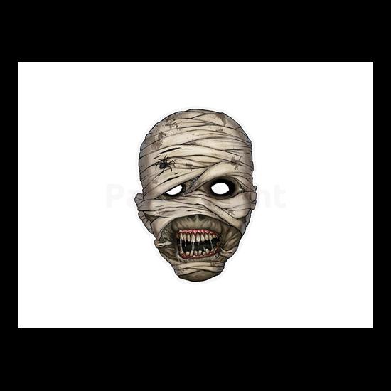 Múmia maszk 21x29cm