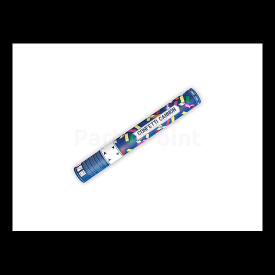 Színes konfetti ágyú 40cm