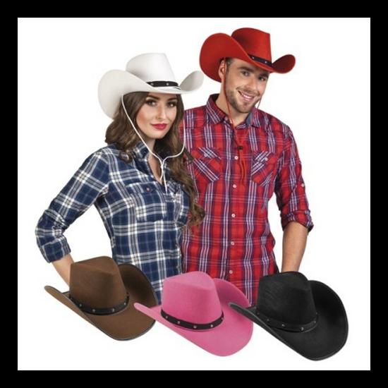 Cowboy kalap 5 színben unisex