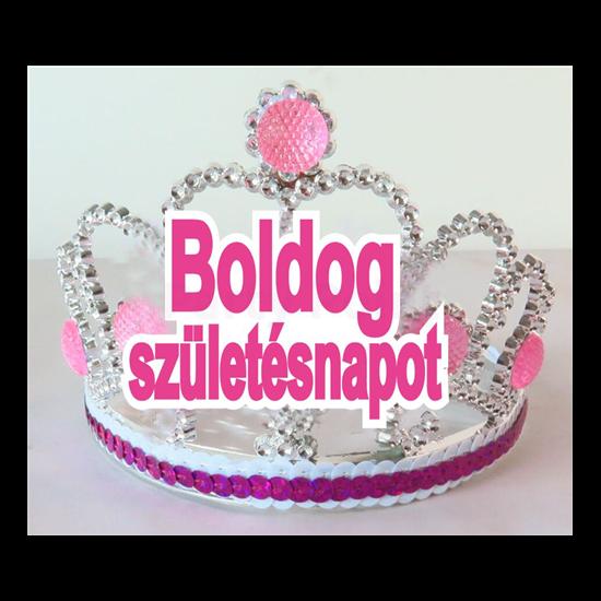 Boldog születésnapot tiara